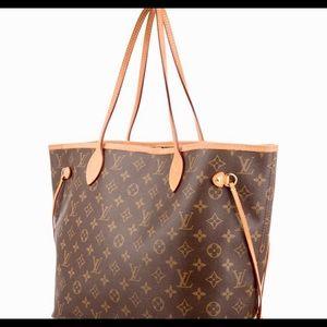 "Authentic ""Louis Vuitton"" tote"